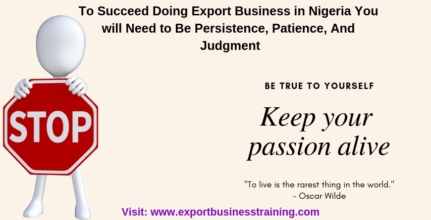 Export Business Training in Nigeria