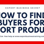 how to find buyers for export products