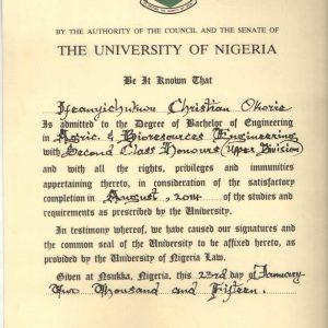 Ifeanyichukwu Okorie
