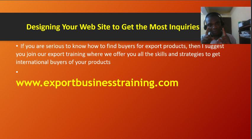 export business training in nigeria